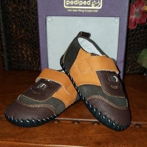 Pediped leather kids shoes, high end